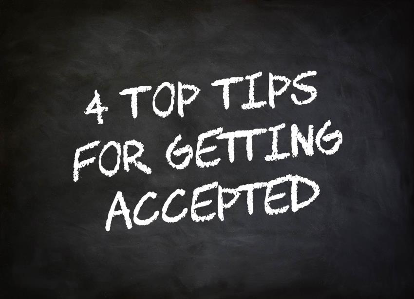 4 top tips to help you get accepted for credit