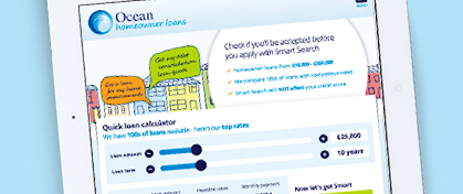Know if you'll be accepted for a loan before you apply with Ocean's Smart Search